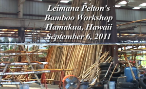 Leimana Bamboo Workshop